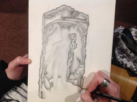 Amber sketching