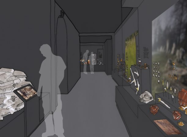 Artists impression of new gallery design