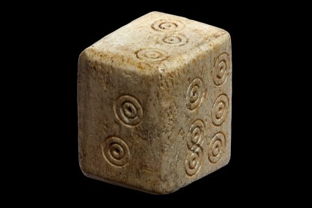 Roman gaming piece