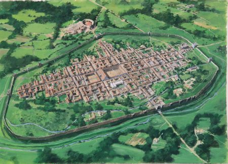 4th Century Town