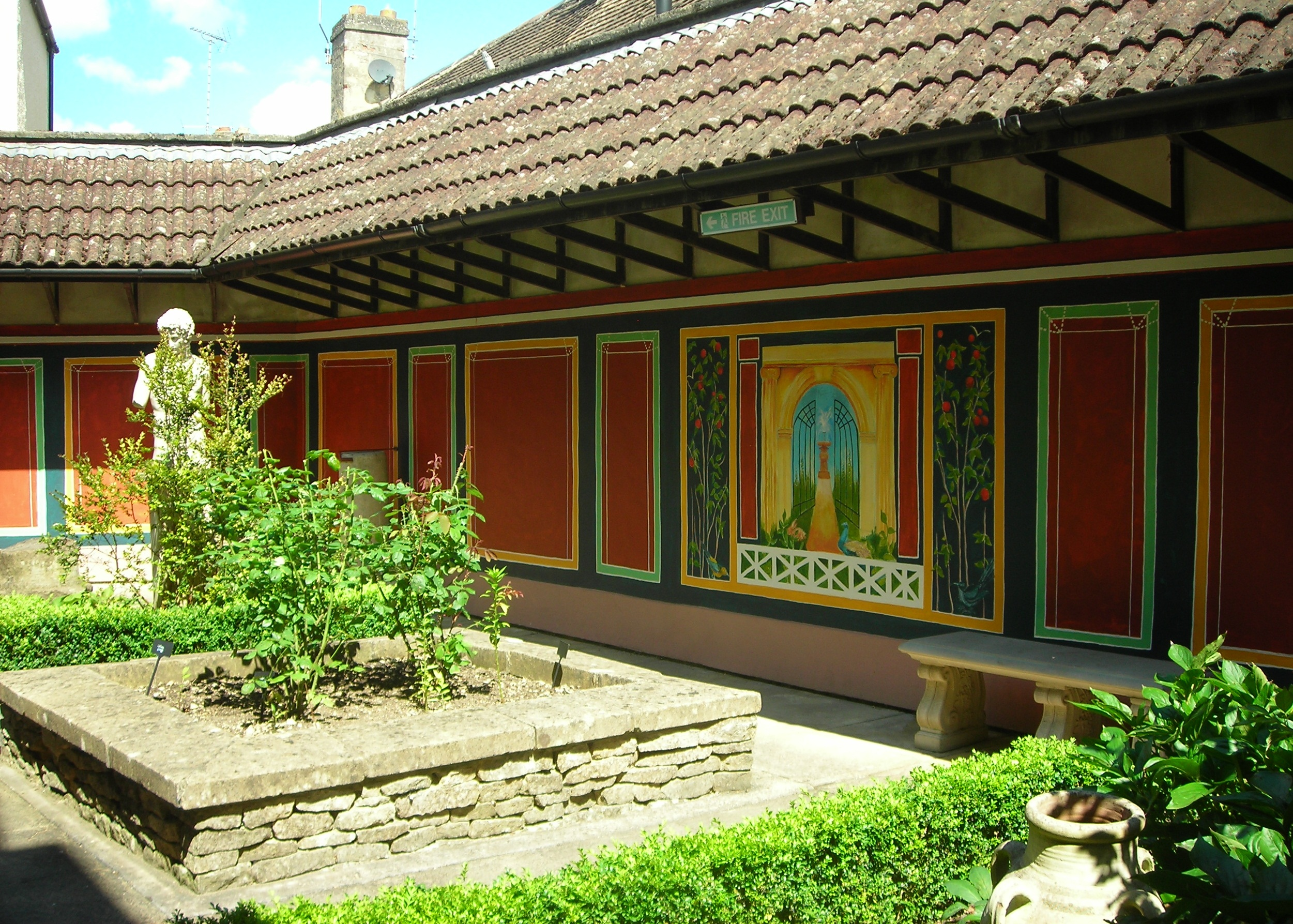 Pop-Up Roman Garden - Corinium Museum