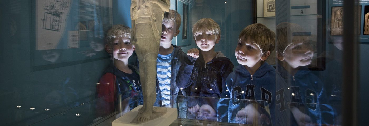 The Corinium museuem Cirencester.