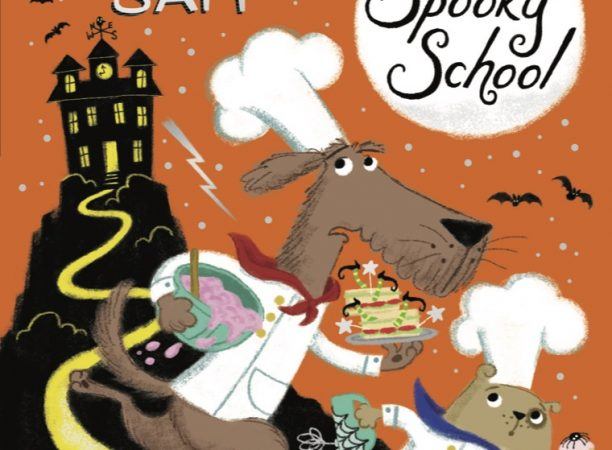 The Spooky School book cover