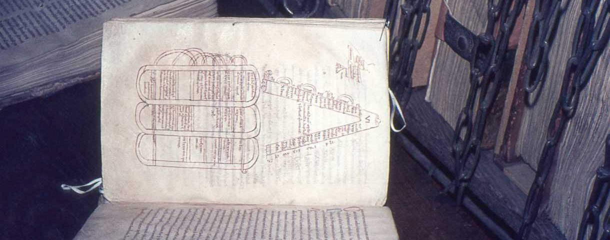 A folio from Hereford Cathedral Library, copyright Hereford Cathedral Library O.1.6