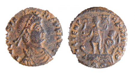 Coin found at Claydon Pike