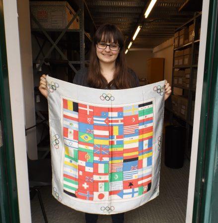 'Seta Pura' Olympic silk handkerchief