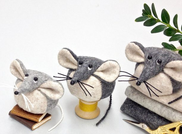 Laura Mirjami fabric mice
