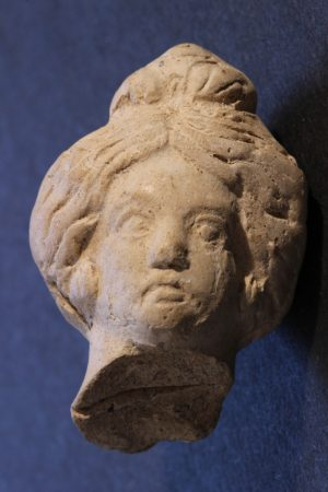 Bust showing Roman hairstyle