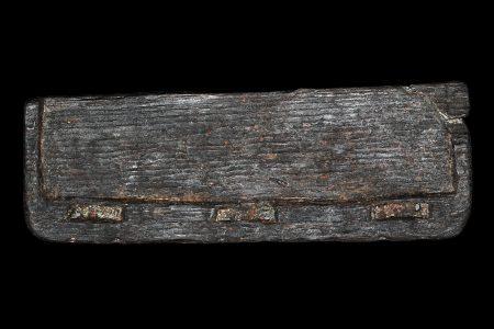 Wax tablet fragment