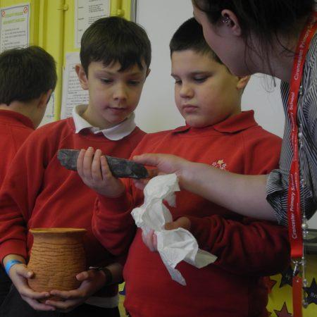 Kids in a workshop