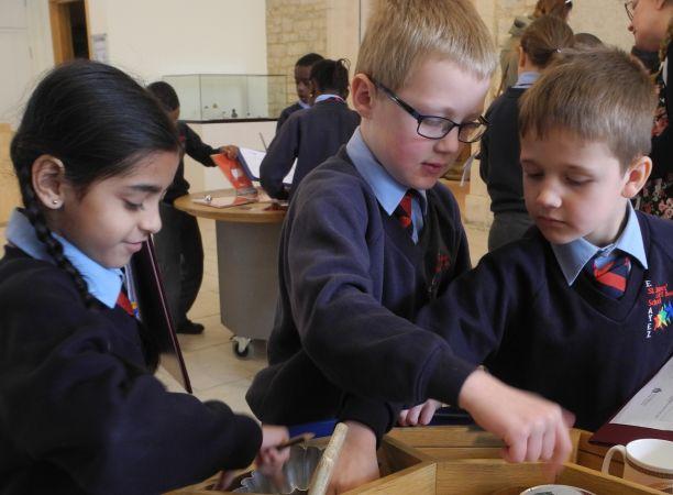 Schools visiting Corinium