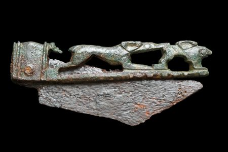 Roman knife handle