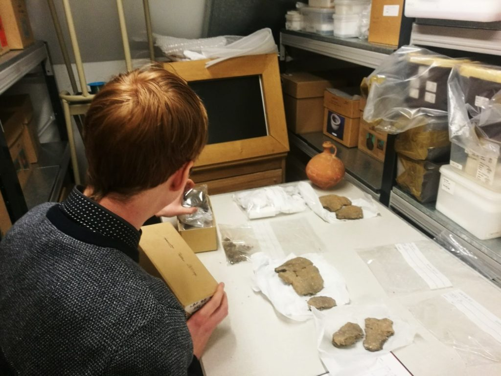 Volunteering at Corinium Museum
