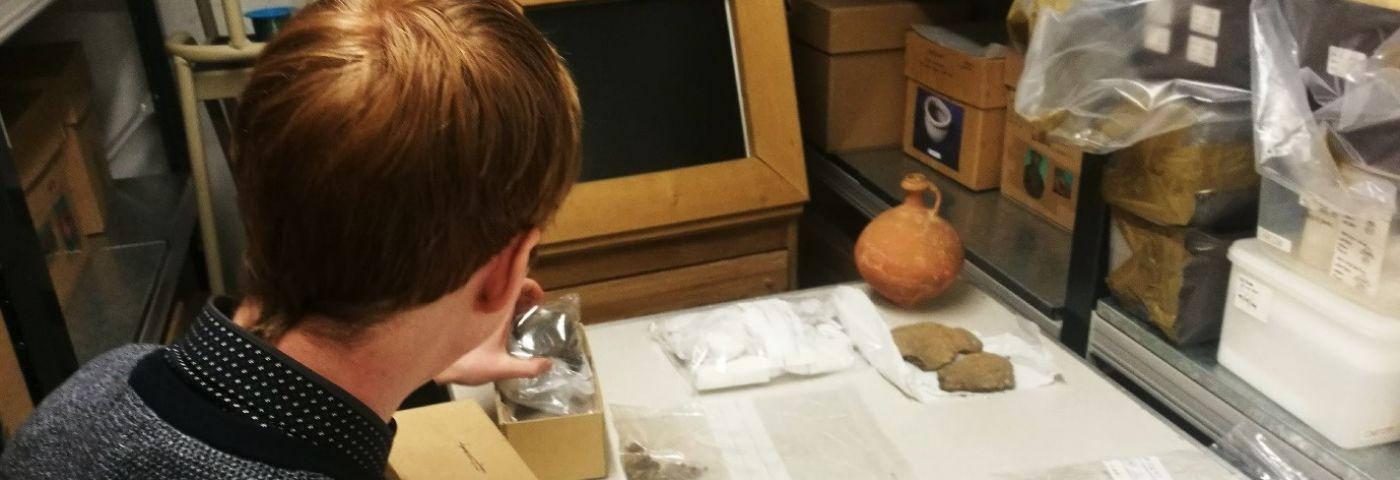 Volunteering at Corinium Museum