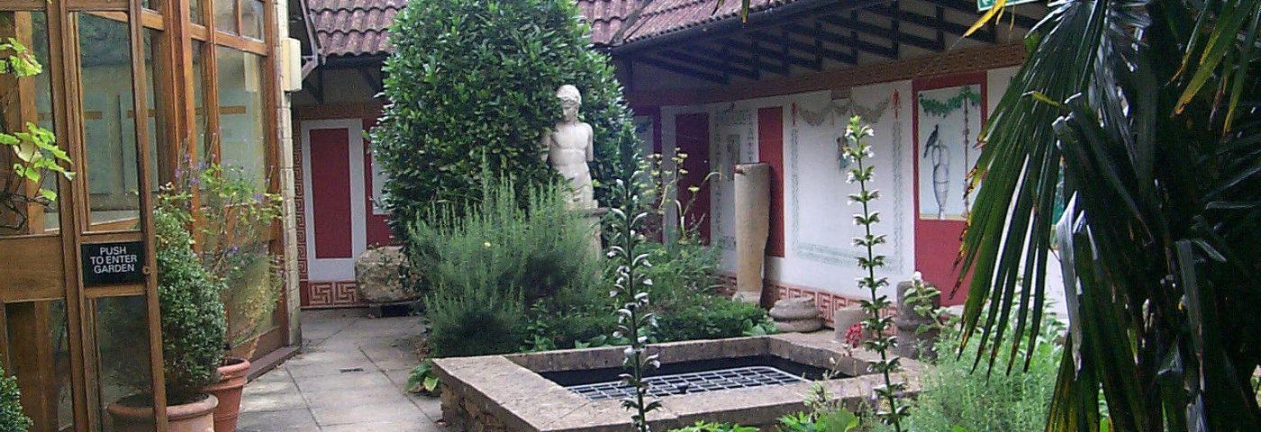 Corinium Museum Roman Garden