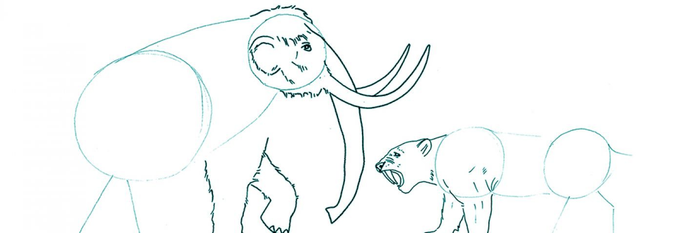 Let's Draw Mammoth Adventure