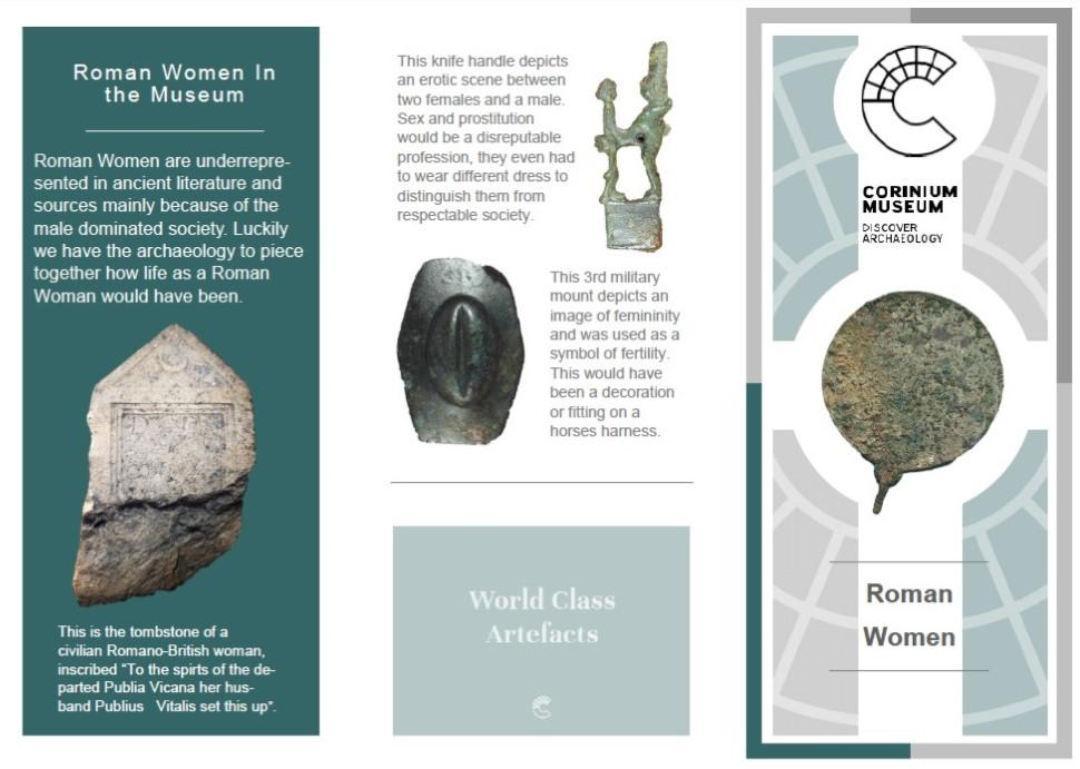 Roman Women Leaflet