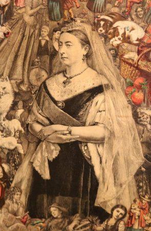Trinder's screen Queen Victoria