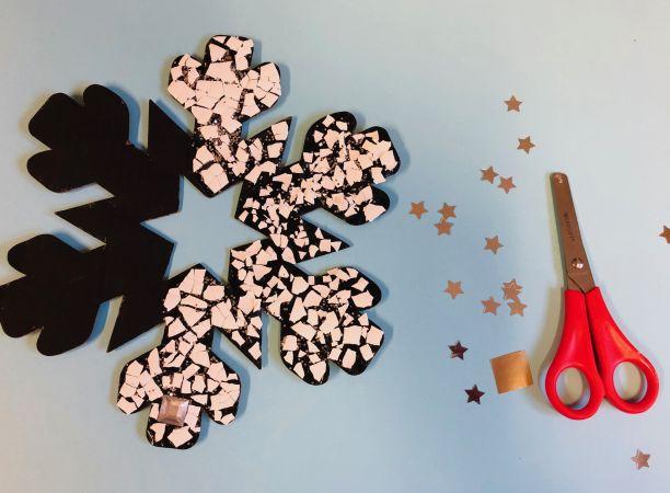 Mosaic snowflake